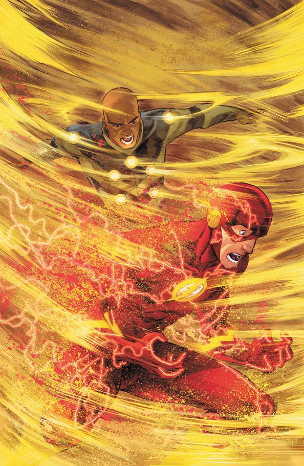 THE FLASH 8 by Francis Manapul and Brian Buccelatto
