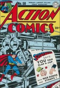 Action Comics 58, Superman, war propaganda