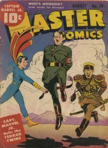 Master Comics, golden age war propaganda