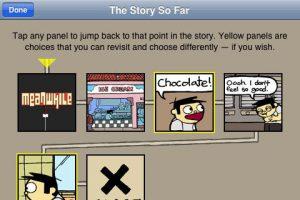 meanwhile story so far interactive comic book