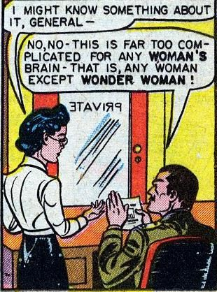 Hilarious panel from a Wonder Woman comic