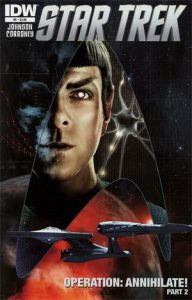 Tim Bradstreet Star Trek #6 Cover