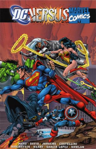 DC vs. Marvel TPB Cover