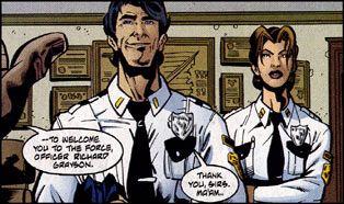 Dick Grayson Cop