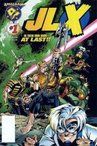 JLX #1 Howard Porter Cover