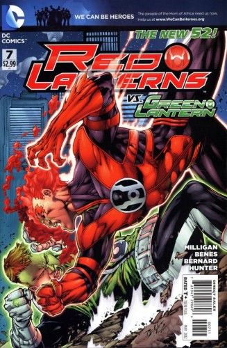 Red Lanterns #7 Ed Benes Cover