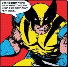 Wolverine Best There is Quote