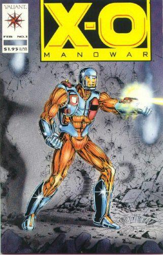 X-O Manowar #1 Bob Layton Cover