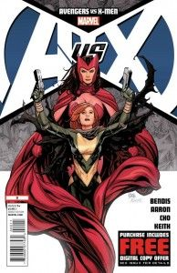 Avengers vs. X-Men #0 Frank Cho Cover