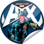 Avengers vs. X-Men Cyclops Logo