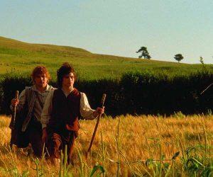 Frodo and Sam Walking