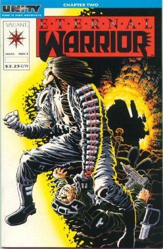 Eternal Warrior #1 Cover