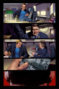 Bloodshot Colored Page 1