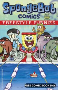 Bongo Comics Free For All/SpongeBob Freestyle Funnies Flip Book