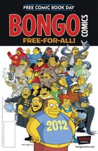 Bongo Comics Free For All/SpongeBob Freestyle Funnies Flip Book 2