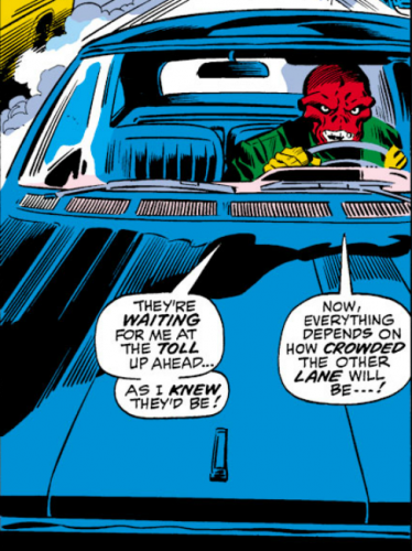 Red Skull Driving