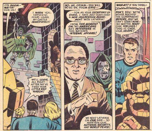 Super-Villain Team-Up Panel