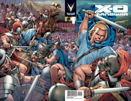X-O Manowar 2nd Printing Cover