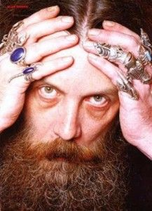 Alan Moore and his rings