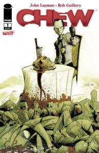 Chew Issue 1 Cover