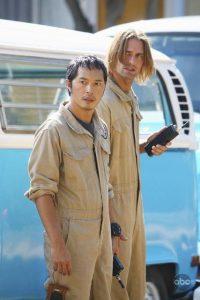 Ken Leung and Josh Holloway