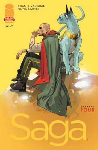 Saga Issue 4 Cover
