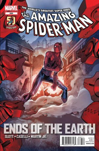 The Amazing Spider-Man #686 Cover