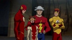 Young Justice Flash Family