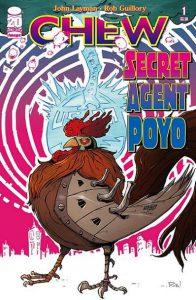 Chew: Secret Agent Poyo Cover