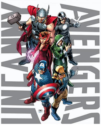 Uncanny Avengers #1 Cover