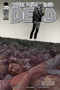 Walking Dead #100 Wraparound Cover