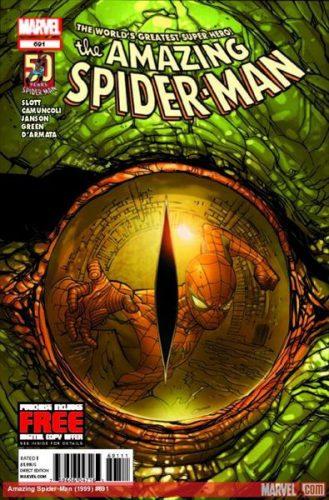 Amazing Spider-Man #691 Cover