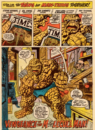 Marvel Two-In-One #1 Panel 2