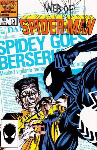 Web of Spider-Man #1 Cover