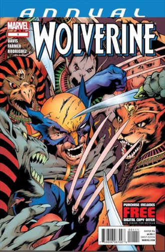 Wolverine Annual #1 Cover