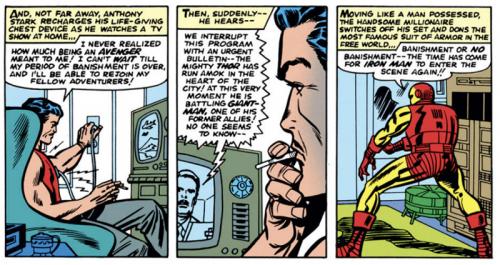 Tony Stark Recharge