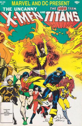 Uncanny X-Men and the New Teen Titans