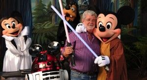 George Lucas Mickey Mouse
