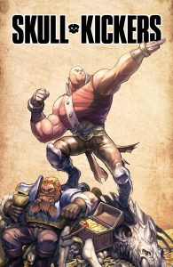 Skullkickers Cover
