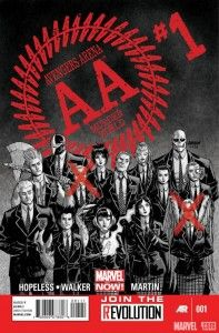 Avengers Arena #1 Cover
