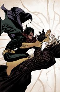 Batgirl Kicking Mirror
