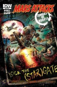 Mars Attacks ZvR Cover