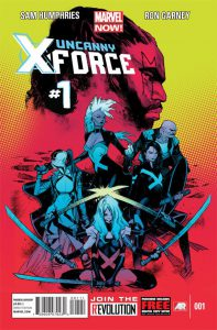 Uncanny X-Force 1 Cover