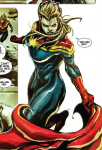 Captain Marvel #1 panel