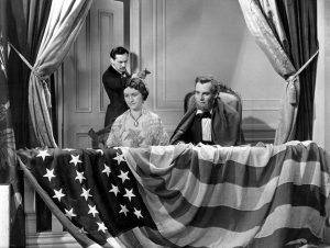 A scene from a Lincoln movie...