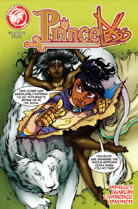 Princeless Volume 2 Issue 2