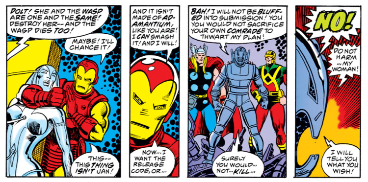 Avengers #162, George Perez & Jim Shooter