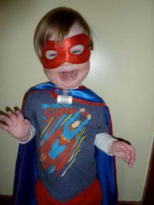 """My son """"Super Ollie!"""""""