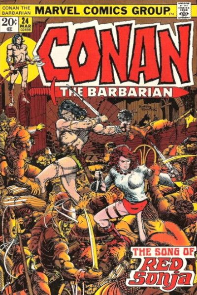 Barry Windsor-Smith, Conan #24