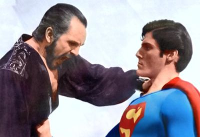 Zod and Superman